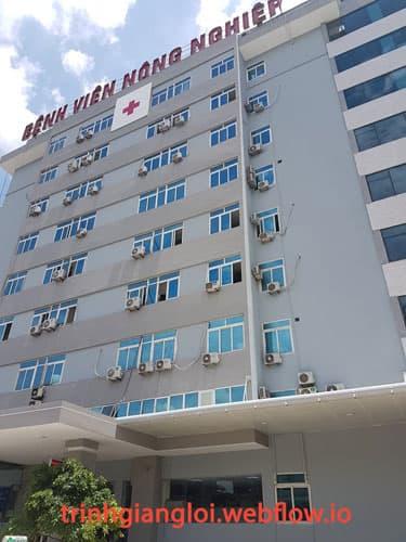 Khám nam khoa ở Bệnh viện đa khoa Nông Nghiệp