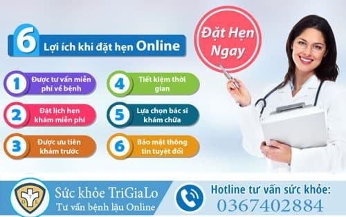 Tư vấn bệnh lậu Online miễn phí, chính xác và kín đáo 24/24