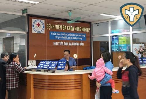Phòng khám đa khoa - Bệnh viện Đa khoa Nông Nghiệp