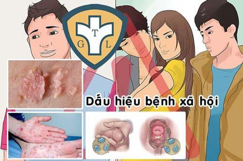 Hình ảnh các bệnh xã hội và triệu chứng thường gặp nguy hiểm