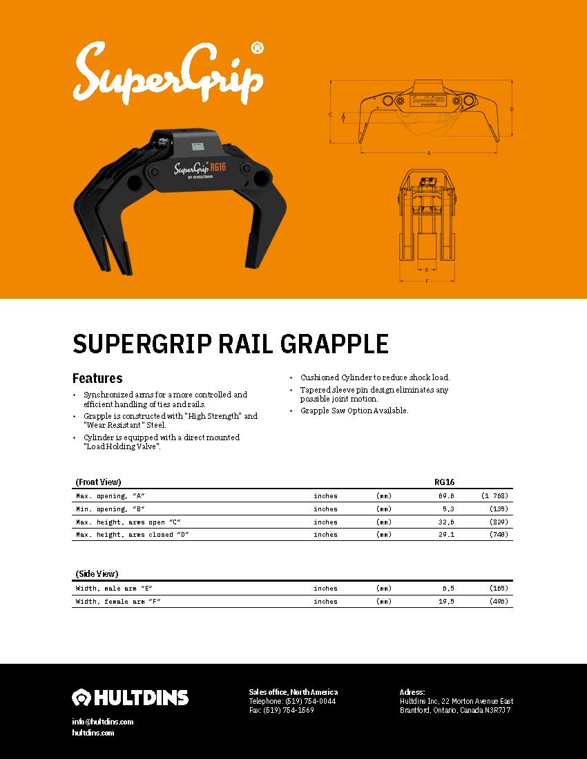 SuperGrip RG16