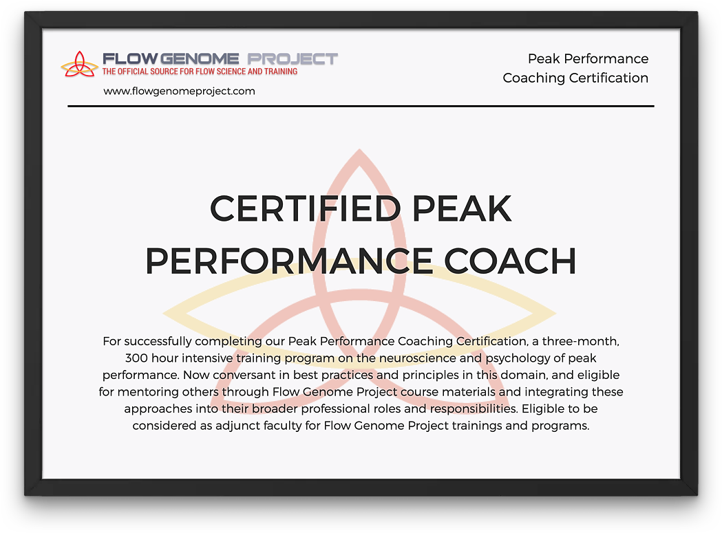 Flow Genome Project Coaching Certification Reviews