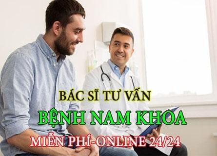 Tư vấn nam khoa trực tuyến miễn phí tại Hà Nội 3