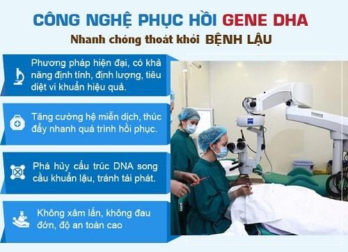 Cách chữa bệnh lậu bằng công nghệ DHA 3