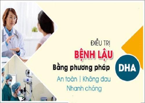 Cách chữa bệnh lậu bằng công nghệ DHA 2