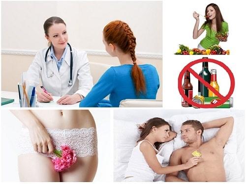 Cách chữa [điều trị] bệnh viêm âm đạo hiệu quả tốt nhất 15