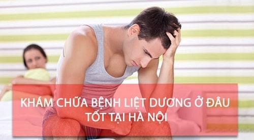 Top 8 địa chỉ chữa liệt dương ở đâu tốt nhất Hà Nội
