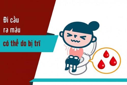 Đi cầu ra máu là gì cách chữa đi cầu ra máu an toàn nhất