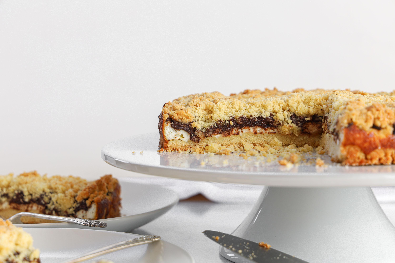 Chocolate Ricotta Crumb Cake