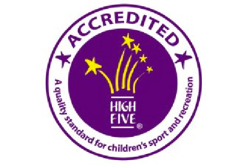 High Five Accredited Badge