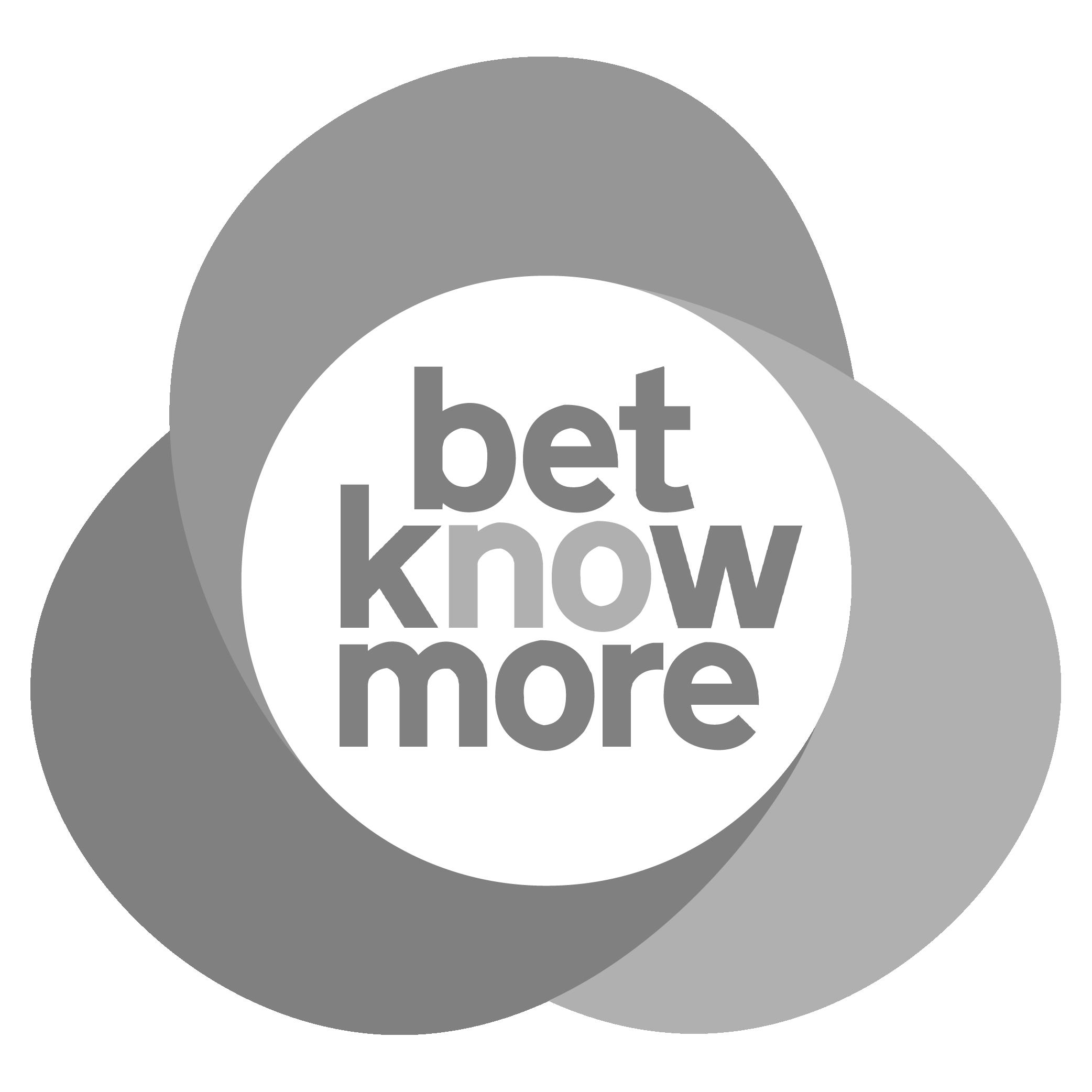 Betknowmore greyscale logo