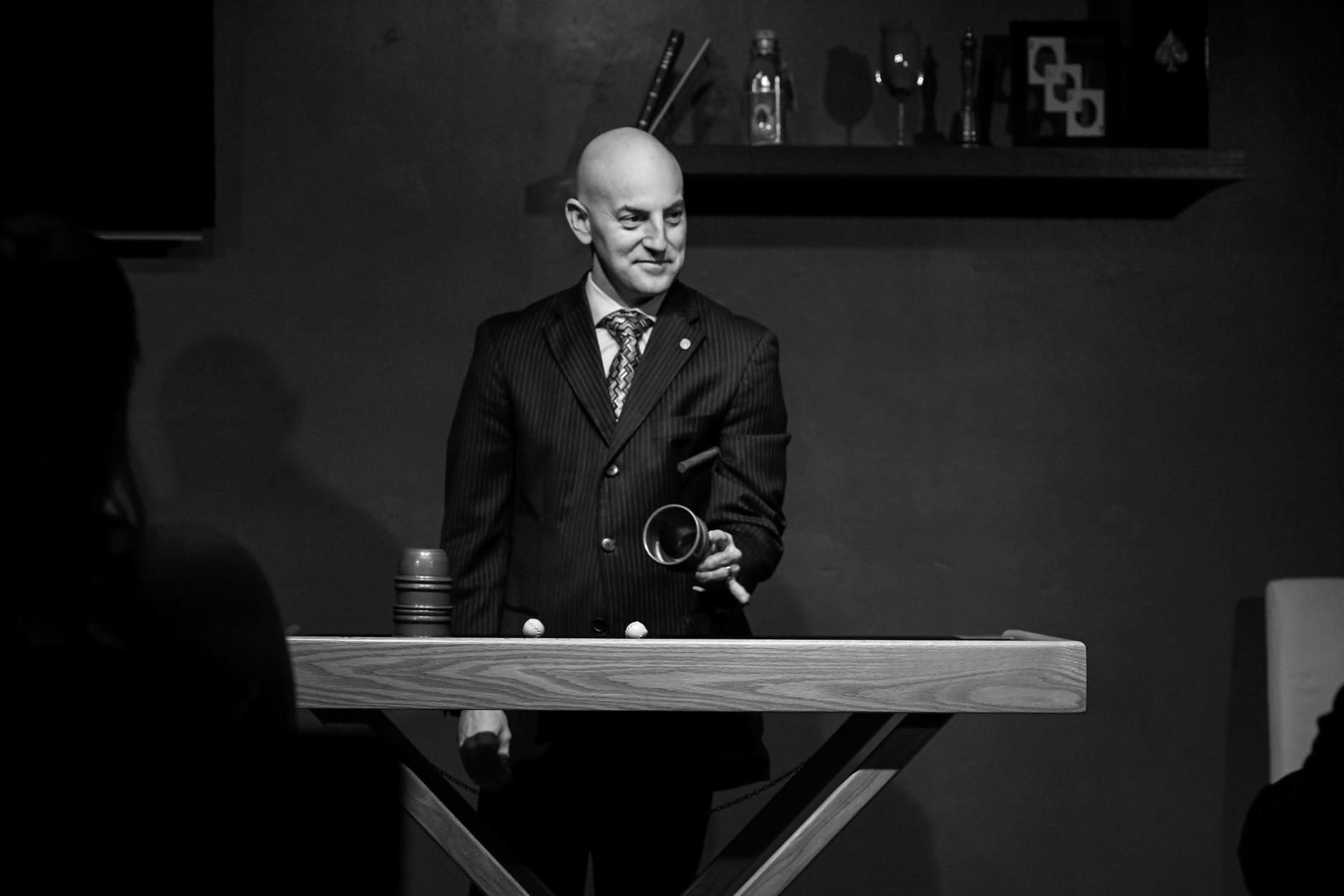 Magic show at Red Spade Theater