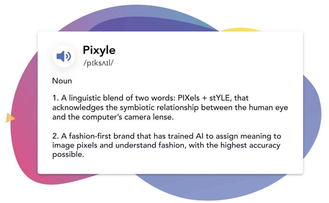 Explanation for the meaning of Pixyle.