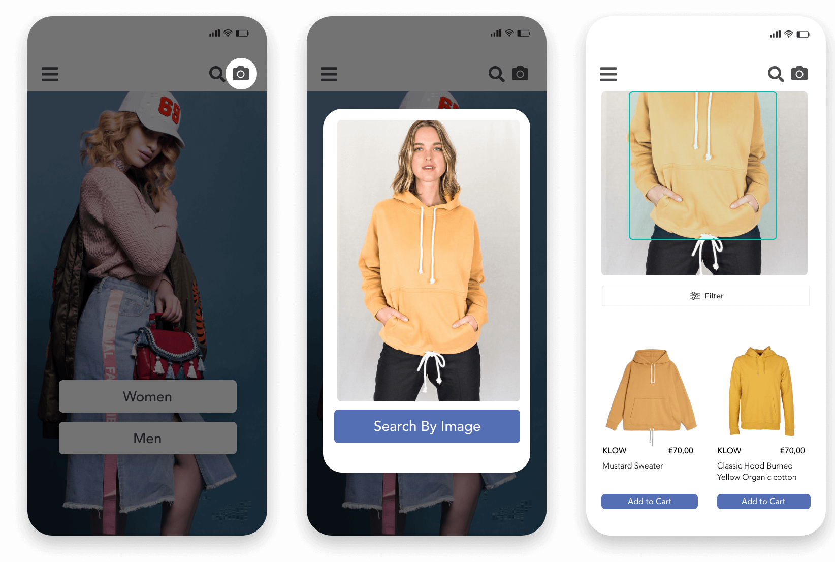 Pixyle's visual search showing best matched dresses and sunglasses to the uploaded image