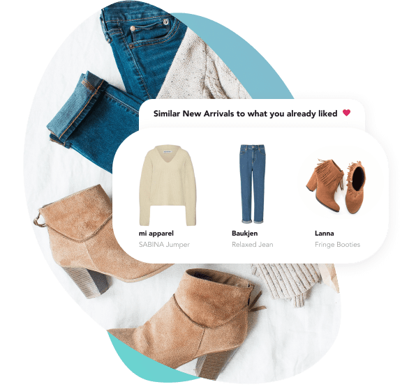 Image of boots, jeans, and sweater.