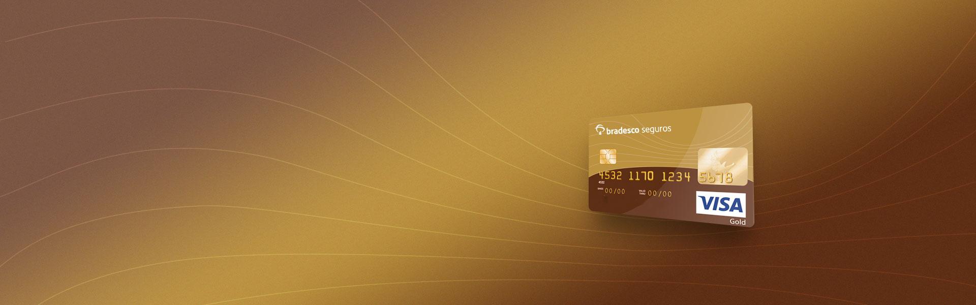 Detalhes - Cartão Visa Gold Bradesco Seguros
