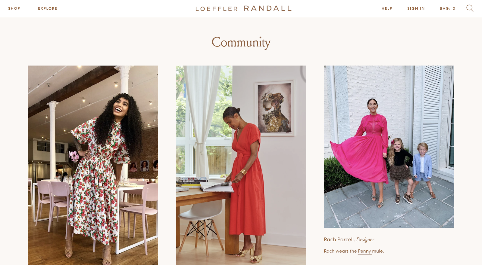 loeffler randall website