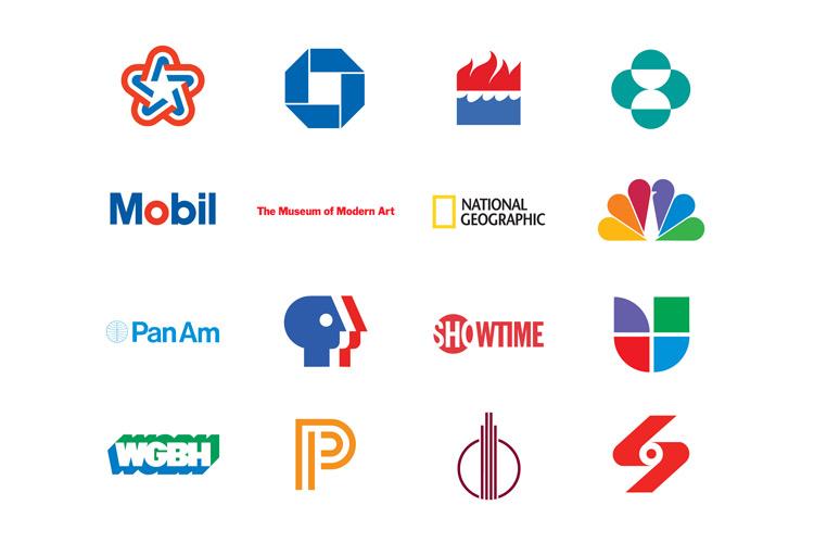 Logos desenvolvidas pela Chermayeff & Geismar & Haviv