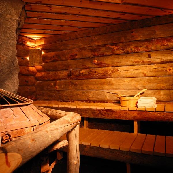 Die Bergwerks-Sauna