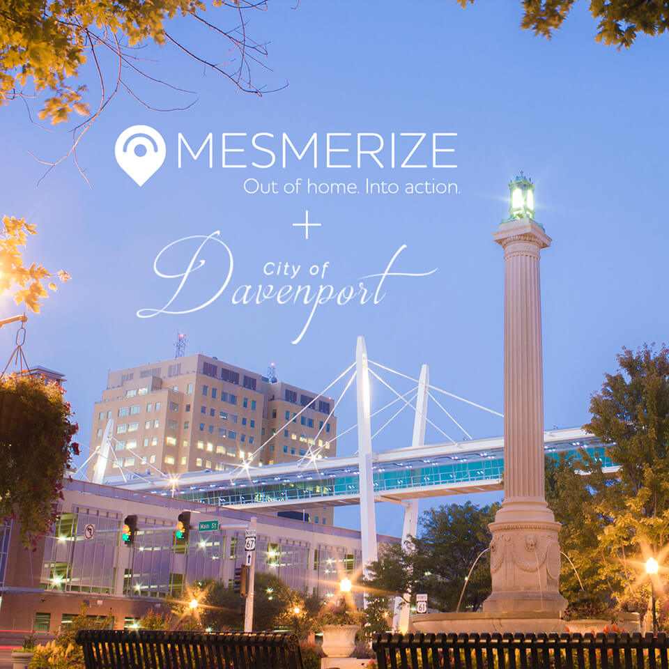 Mesmerize Announces New Exclusive Advertising Partnership with Davenport Citibus