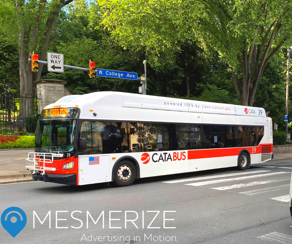 Mesmerize Named Exclusive Sales Representative for Centre Area Transportation Authority of State College, Pennsylvania
