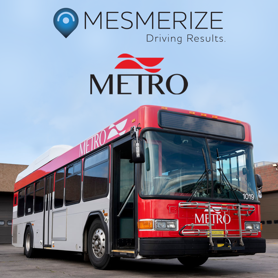 Mesmerize Named Exclusive Sales Representative for METRO of Kalamazoo, Michigan
