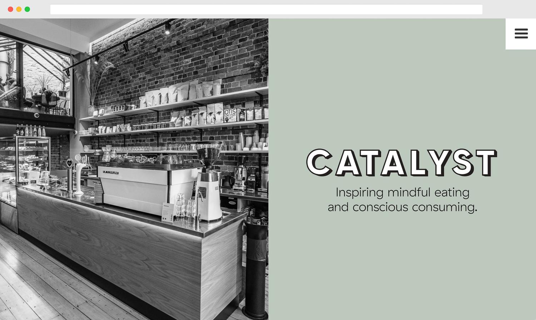 Catalyst Kitchen Homepage