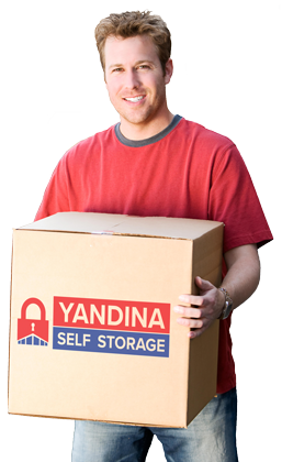 Yandina Self Storage Person