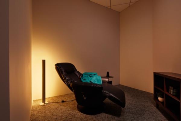 新本社の仮眠室