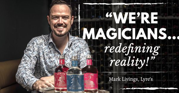 Lyre's Non-Alcoholic Spirits founder Mark Livings