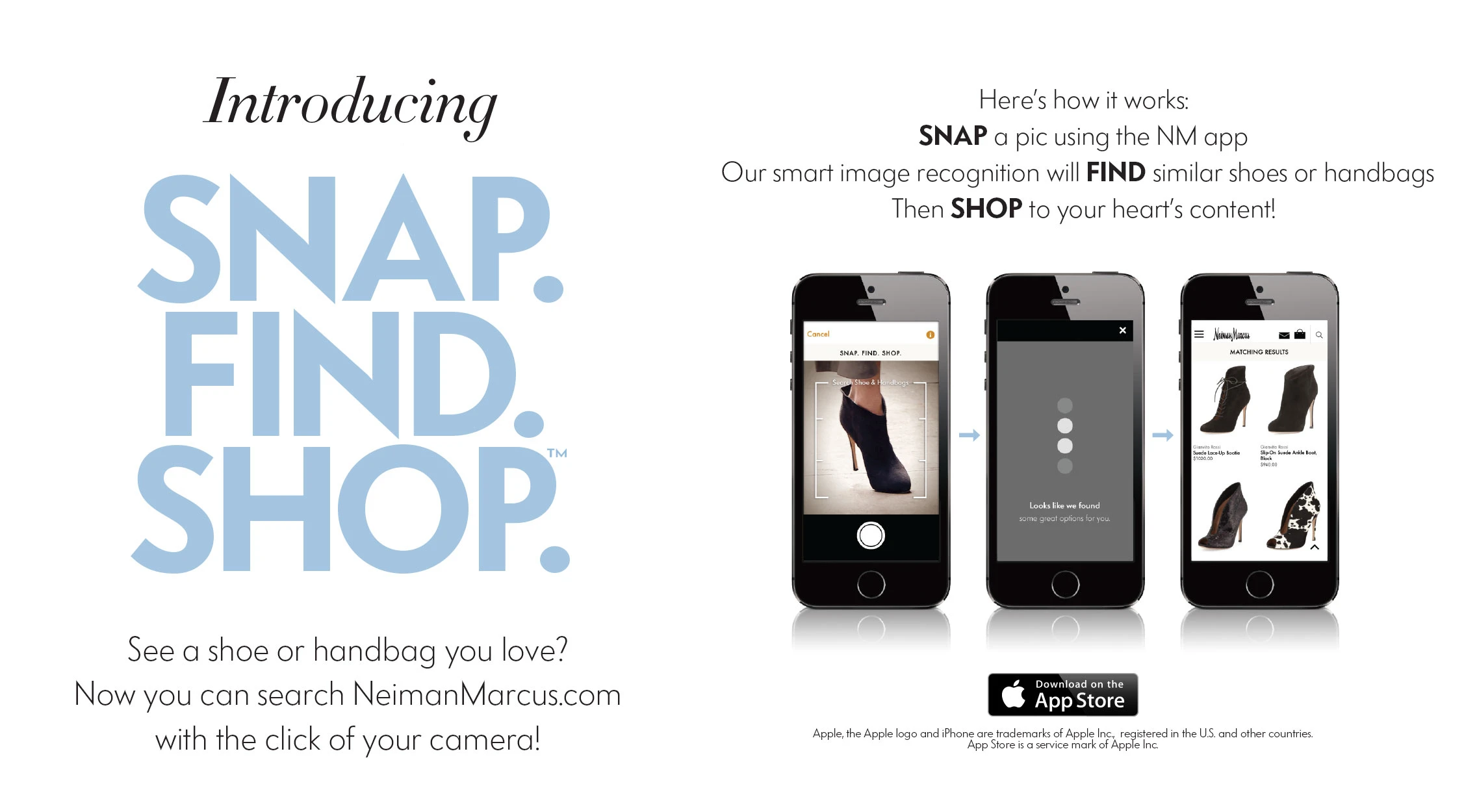 Snap and shop application