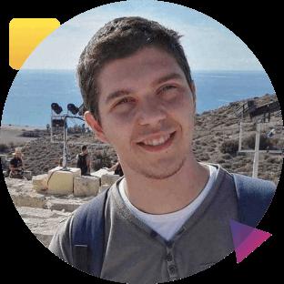 Image of Nikola Krstev-Front-End Developer Intern
