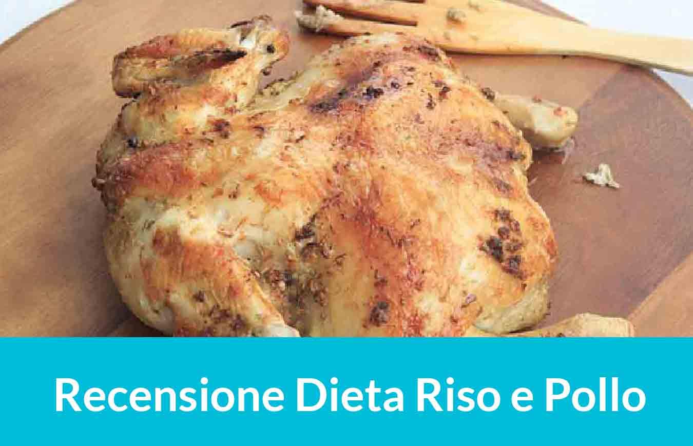 immagine di un pasto della dieta del Riso e Pollo