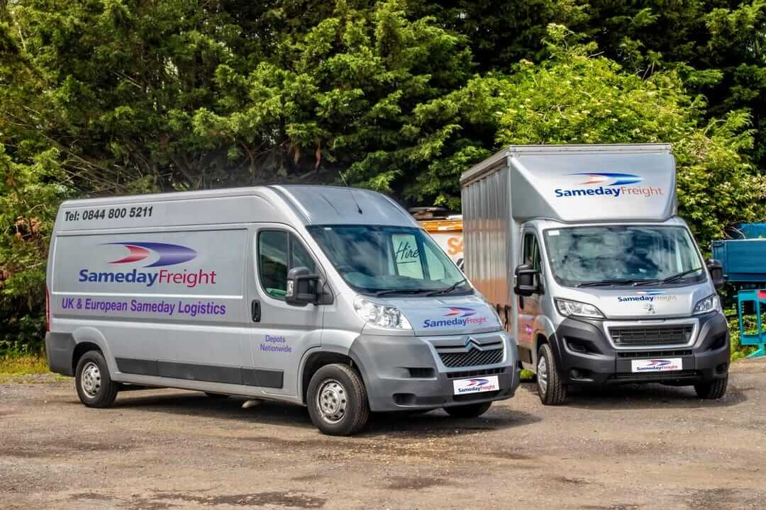 sameday freight courier service