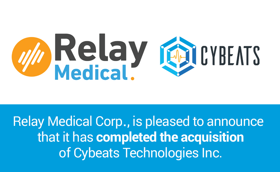 Relay Medical Closes Acquisition of IoT Cybersecurity Firm, Cybeats Technologies Inc.