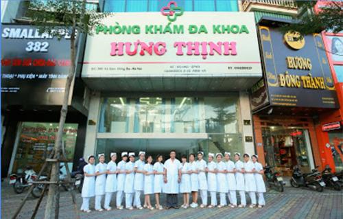 Phòng khám đa khoa Hưng Thịnh - Phòng khám phụ khoa tại Hà Nội