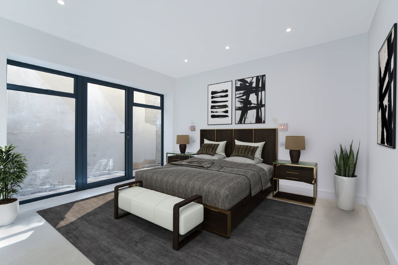 Wimbledon Apartments - Bedroom