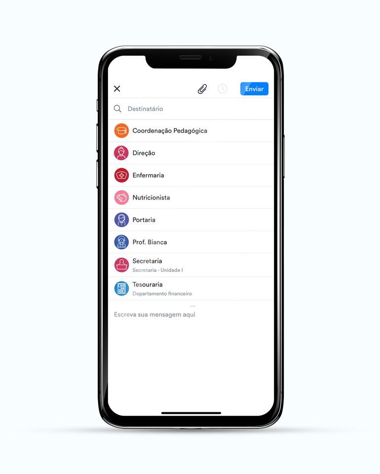 ClassApp: canais de comunicação diretos