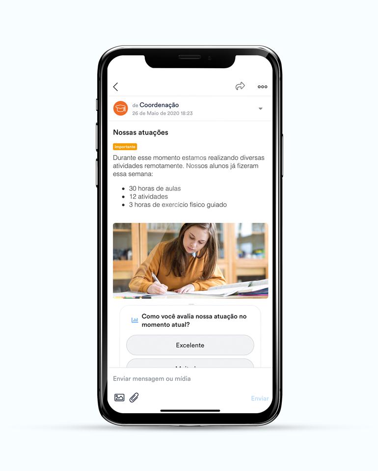 ClassApp: envie e receba mensagens
