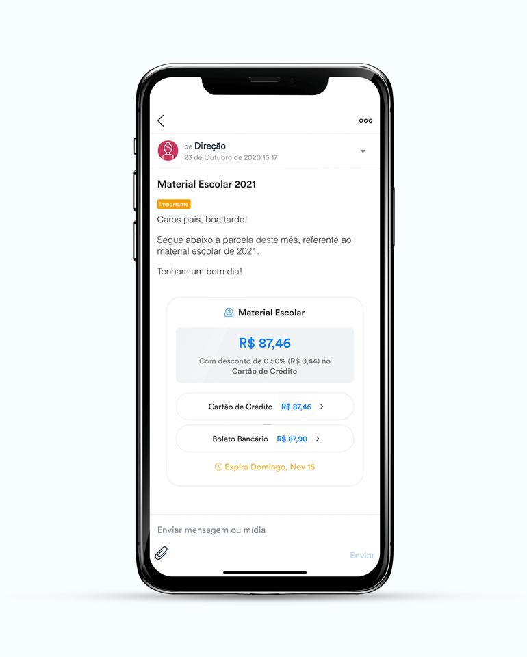 ClassApp: receba pagamentos por boleto ou cartão