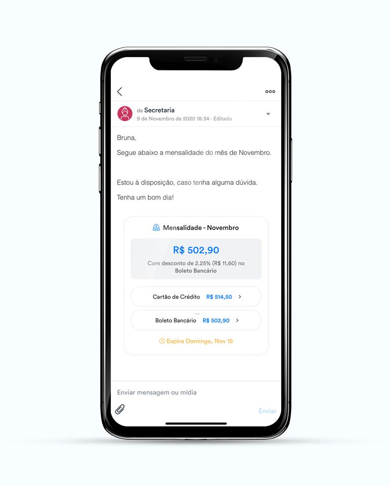 ClassApp: envie pagamentos de forma prática