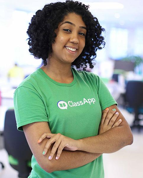 ClassApp - caixa de entrada do app de comunicação escolar