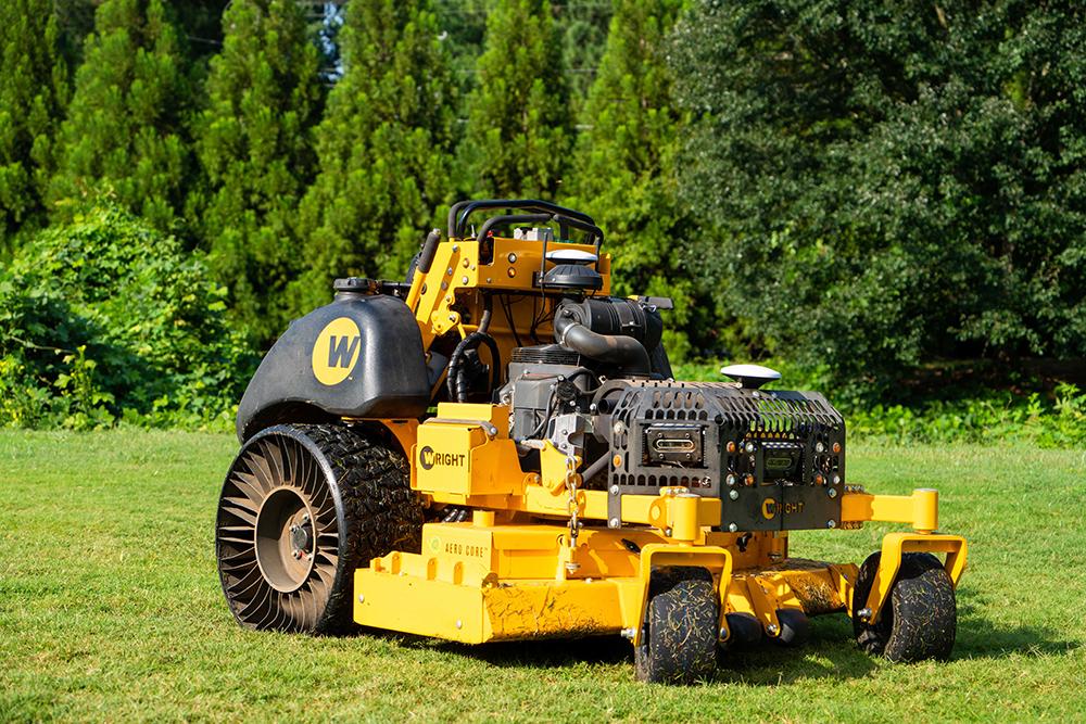 Wright mower image