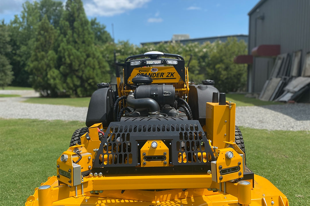 Wright mower front shot