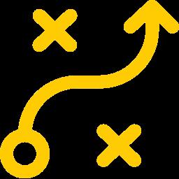 Icon representing Strategy