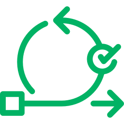 Icon representing Implementation