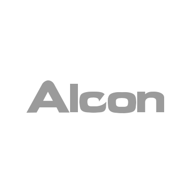 The logo for Alcon