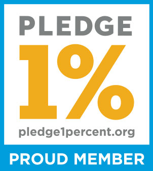 1% Pledge Badge