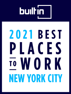 Built In 2021 Best Places to Work in NYC