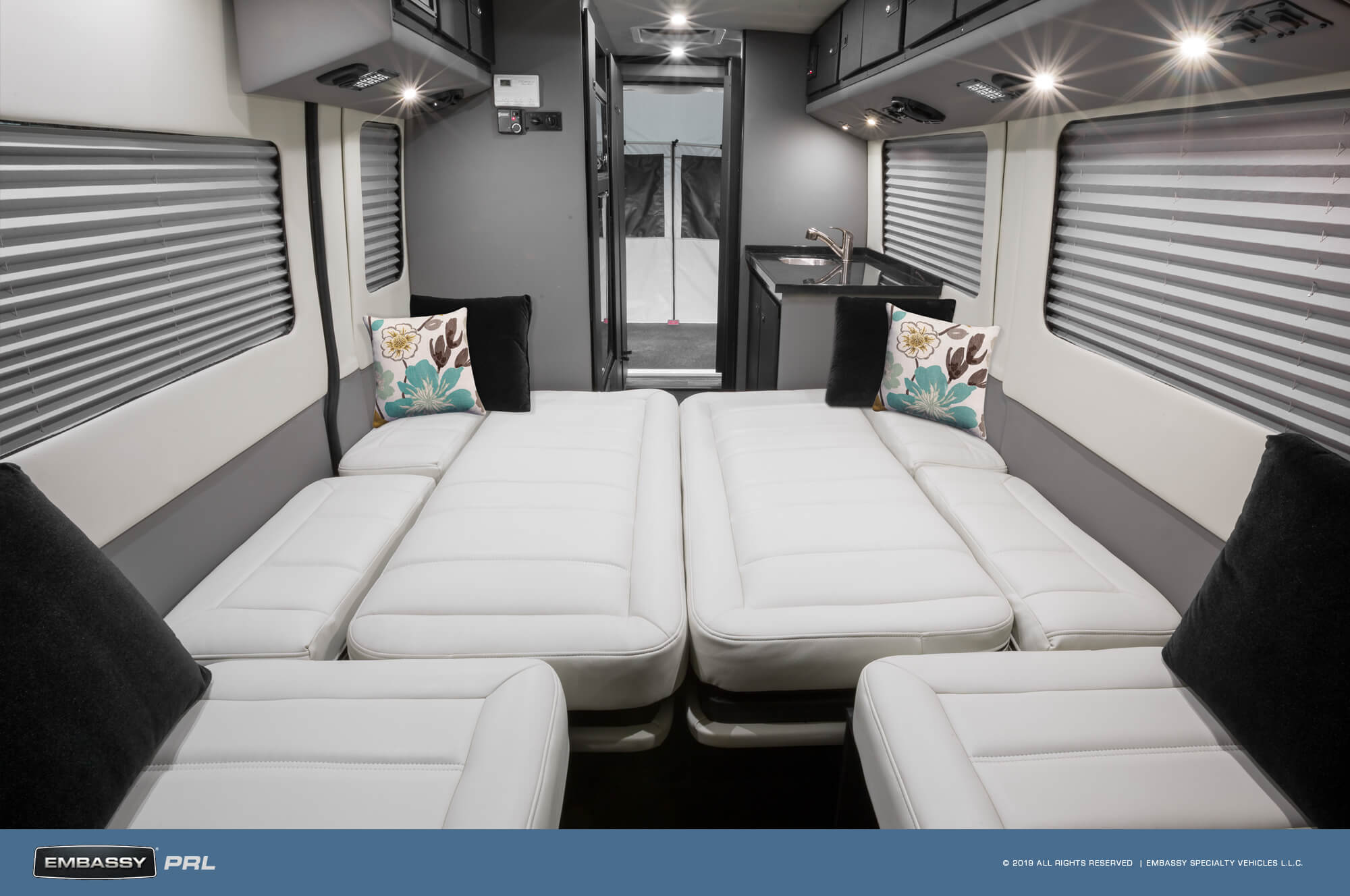 Embassy RV PRL Merging Sofa Bed